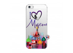 Coque iPhone 5/5S/SE I Love Moscow