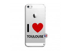 Coque iPhone 5/5S/SE I Love Toulouse