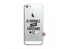 Coque iPhone 5/5S/SE Je Dribble Comme Cristiano