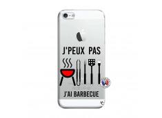 Coque iPhone 5/5S/SE Je Peux Pas J Ai Barbecue