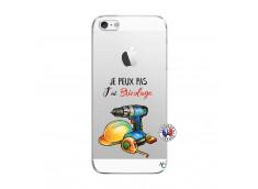Coque iPhone 5/5S/SE Je Peux Pas J Ai Bricolage