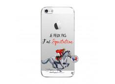 Coque iPhone 5/5S/SE Je Peux Pas J Ai Equitation