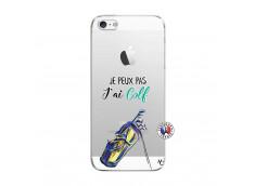 Coque iPhone 5/5S/SE Je Peux Pas J Ai Golf