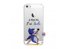 Coque iPhone 5/5S/SE Je peux pas j'ai Judo