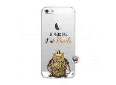Coque iPhone 5/5S/SE Je Peux Pas J Ai Rando