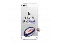 Coque iPhone 5/5S/SE Je Peux Pas J Ai Rugby