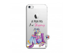 Coque iPhone 5/5S/SE Je Peux Pas J Ai Shopping