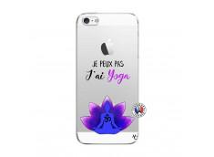 Coque iPhone 5/5S/SE Je Peux Pas J Ai Yoga