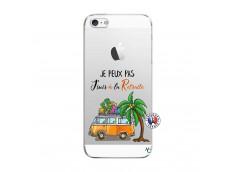 Coque iPhone 5/5S/SE Je Peux Pas Je Suis A La Retraite