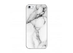 Coque iPhone 5/5S/SE White Marble Translu
