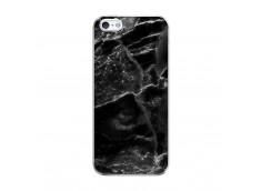 Coque iPhone 5/5S/SE Black Marble Translu