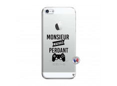 Coque iPhone 5/5S/SE Monsieur Mauvais Perdant