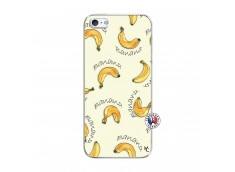 Coque iPhone 5/5S/SE Sorbet Banana Split Translu