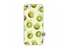 Coque iPhone 5/5S/SE Sorbet Kiwi Translu