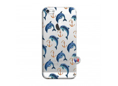 Coque iPhone 5/5S/SE Dauphins