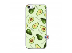 Coque iPhone 5/5S/SE Sorbet Avocat Translu