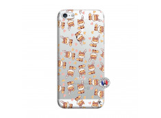 Coque iPhone 5/5S/SE Petits Renards