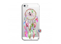 Coque iPhone 5/5S/SE Pink Painted Dreamcatcher