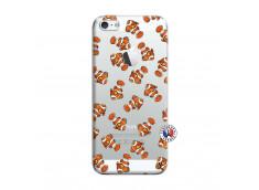 Coque iPhone 5/5S/SE Petits Poissons Clown