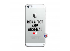 Coque iPhone 5/5S/SE Rien A Foot Allez Arsenal