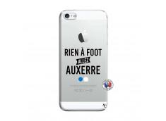 Coque iPhone 5/5S/SE Rien A Foot Allez Auxerre