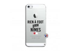 Coque iPhone 5/5S/SE Rien A Foot Allez Nimes