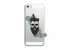 Coque iPhone 5/5S/SE Skull Hipster