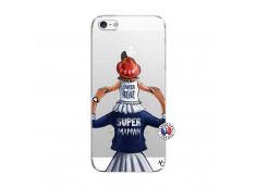 Coque iPhone 5/5S/SE Super Maman Et Super Bébé