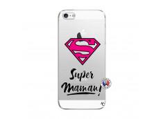 Coque iPhone 5/5S/SE Super Maman