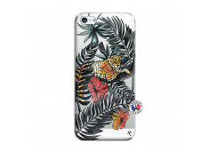 Coque iPhone 5/5S/SE Leopard Tree