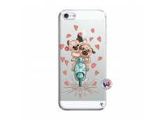 Coque iPhone 5/5S/SE Puppies Love