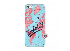Coque iPhone 5/5S/SE Wanderlust Translu