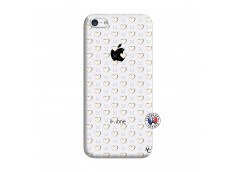 Coque iPhone 5C Little Hearts