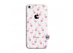 Coque iPhone 5C Flamingo