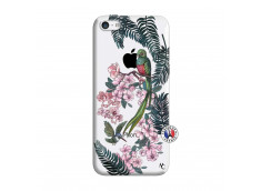Coque iPhone 5C Flower Birds