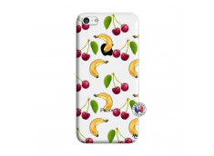 Coque iPhone 5C Hey Cherry, j'ai la Banane