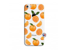 Coque iPhone 5C Orange Gina