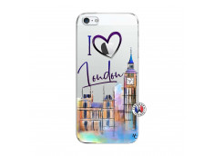 Coque iPhone 5C I Love London