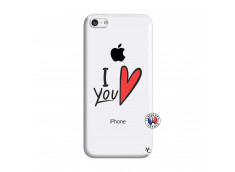 Coque iPhone 5C I Love You