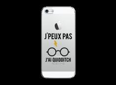 Coque iPhone 5C J Ai Quidditch