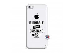 Coque iPhone 5C Je Dribble Comme Cristiano