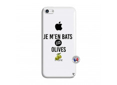 Coque iPhone 5C Je M En Bas Les Olives