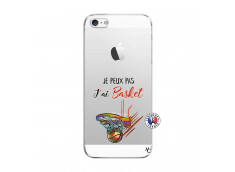 Coque iPhone 5C Je Peux Pas J Ai Basket