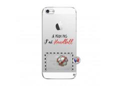 Coque iPhone 5C Je peux pas j'ai Handball