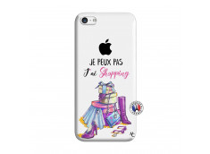 Coque iPhone 5C Je Peux Pas J Ai Shopping