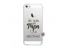 Coque iPhone 5C Je Suis Un Papa Qui Dechire