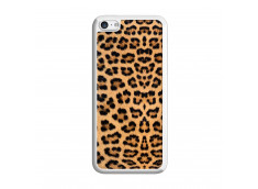 Coque iPhone 5C Leopard Style Translu