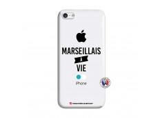 Coque iPhone 5C Marseillais à Vie