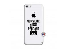 Coque iPhone 5C Monsieur Mauvais Perdant