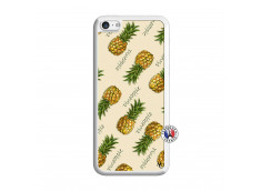 Coque iPhone 5C Sorbet Ananas Translu